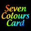 Seven Colours Card